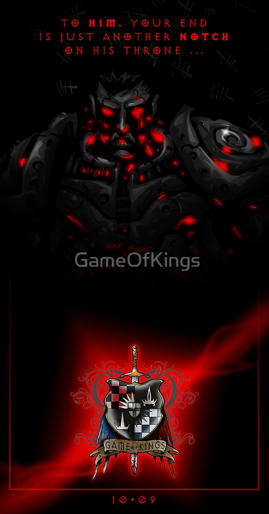 Game of Kings, Wave Eight Preview - the Black King by GameOfKings