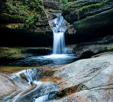 Sabbaday Falls  by PGornell
