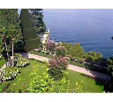 Isola Madre Gardens Photographic Print