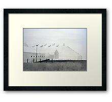 Dock Museum Framed Print