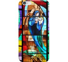 Stained Glass Nativity Scene iPhone Case/Skin