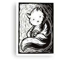 Safe in your arms Canvas Print