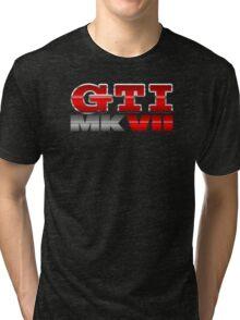 VW GTI MK7 Icon Tri-blend T-Shirt