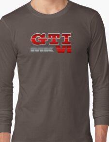 VW GTI MK6 Icon Long Sleeve T-Shirt