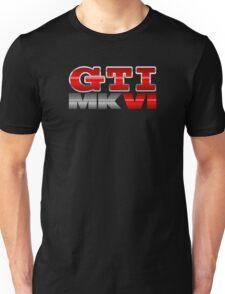 VW GTI MK6 Icon Unisex T-Shirt