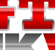VW GTI MK6 Icon Sticker