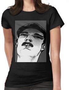 boy sketch Womens Fitted T-Shirt