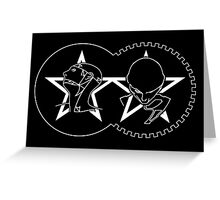 The Sisters Of Mercy - The Worlds End - Mashup Logo Greeting Card