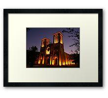 Heavenly Glow!  Framed Print