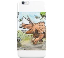 Happy Triceratops iPhone Case/Skin
