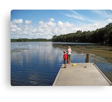 Martin Lake Parker, Florida Canvas Print