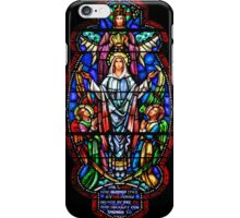 Angels with Mary Stained Glass iPhone Case/Skin