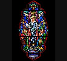 Angels with Mary Stained Glass Unisex T-Shirt