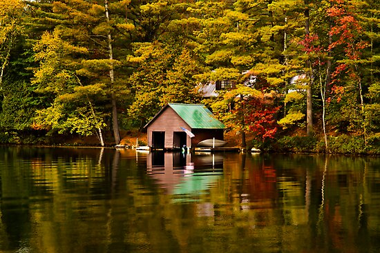 The Boat House-Lake Paradox by BigD