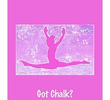 "The Gymnast ""Got Chalk?"" ~ Bright Pink Version by Susan Werby"