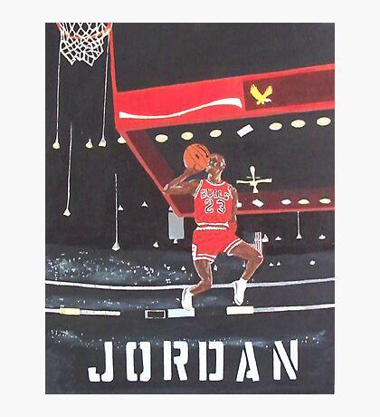 Air Jordan Photographic Print