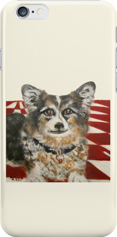 Corgi in the Kitchen by F.A. Moore