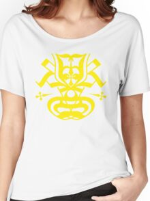 Typo Samurai - Yellow Women's Relaxed Fit T-Shirt