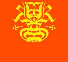 Typo Samurai - Yellow Unisex T-Shirt