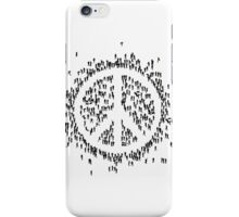 all we are saying.... is give peace a chance.... iPhone Case/Skin