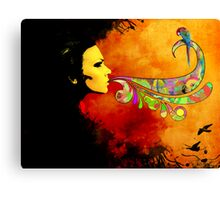 extracting colors Canvas Print