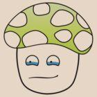 Sad Mushroom (transparent) by Airon Roosalu