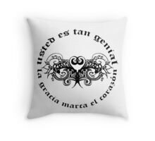 Grace marks your heart... Throw Pillow