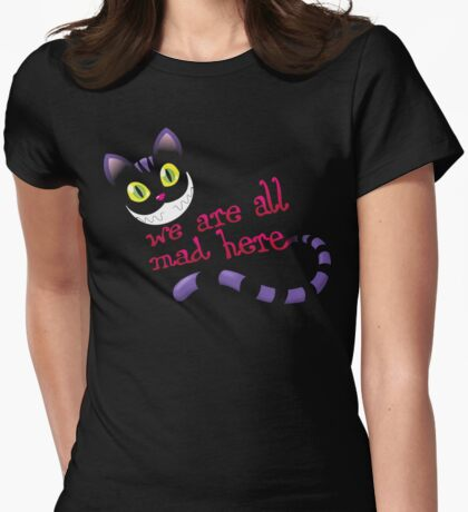 We are all mad Womens Fitted T-Shirt