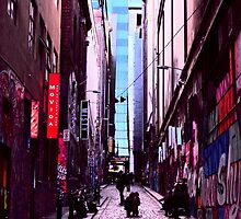Hosier lane by DomaDART