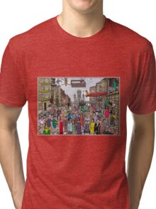 Funny TV and movie stars Tri-blend T-Shirt