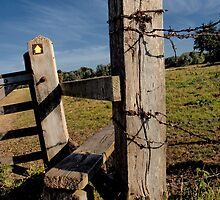 Stile in colour by Simon Duckworth