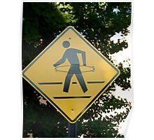 Hula Hoop Crossing Poster