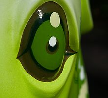 Green eye by Katherine Maguire