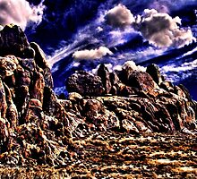 Over The Hill Fine Art Print by stockfineart