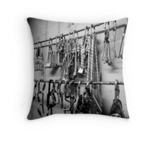 Trad Gear Throw Pillow