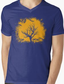Tree Clearing Mens V-Neck T-Shirt
