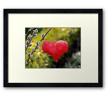 Love beyond Death Framed Print
