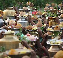 Temple offerings by arteco