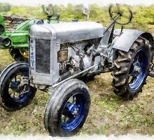 Vintage 1930 Plymouth Tractor by Edward Fielding