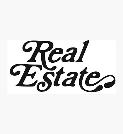 Real Estate Logo Photographic Print