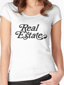 Real Estate Logo Women's Fitted Scoop T-Shirt