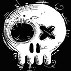 Voodoo Skull t-shirt by os-frontis