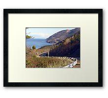 Road to the Highlands Framed Print