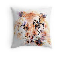 Panthera Tiger I Throw Pillow