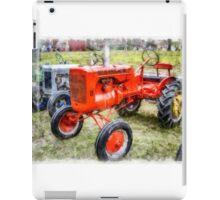 Vintage Allis-Chalmers Tractor Watercolor iPad Case/Skin