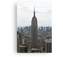 Empire State Building, Manhattan, New York, USA Canvas Print