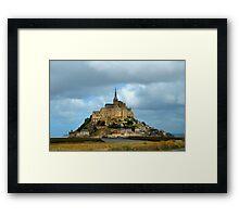 Mont Saint-Michel  Framed Print