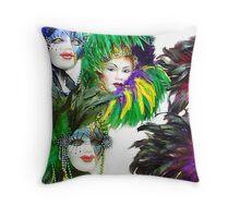 Masquerade © Throw Pillow