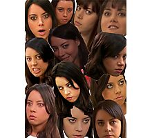 April Ludgate Collage Photographic Print