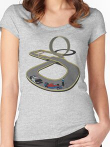Slots Infringement Women's Fitted Scoop T-Shirt